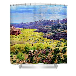 Escalante Canyon Shower Curtain