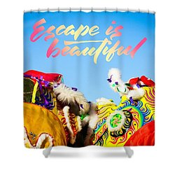 Escape Shower Curtain by Bobby Villapando