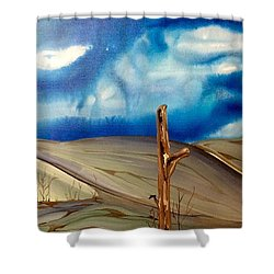 Escape Shower Curtain by Pat Purdy