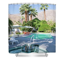 Escape Resort Shower Curtain