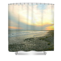 Escape The Day Shower Curtain
