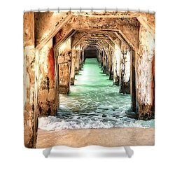 Escape To Atlantis Shower Curtain