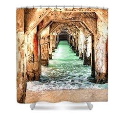 Escape To Atlantis Shower Curtain