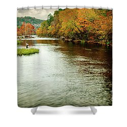 Escape To Beaver's Bend Shower Curtain