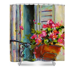 Escape To France Shower Curtain