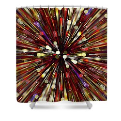 Shower Curtain featuring the photograph Escape Velocity.. by Nina Stavlund