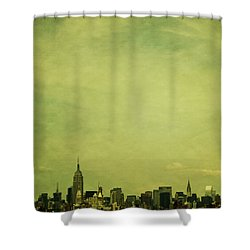 Escaping Urbania Shower Curtain by Andrew Paranavitana