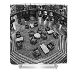 Escher's Study Shower Curtain