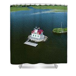 Esopus Lighthouse Shower Curtain