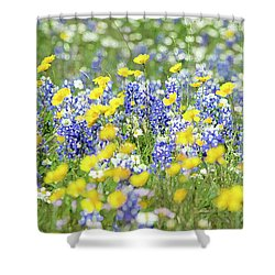 Essence Of Colors Shower Curtain