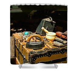 Essentials  From Covered Wagon Shower Curtain