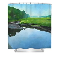 Essex Creek Shower Curtain