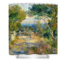 Estaque Shower Curtain by Renoir