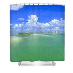 Estero Bay Shower Curtain