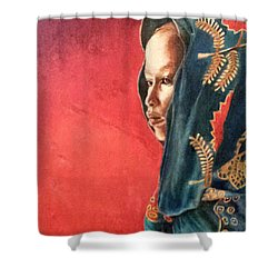 Esther Shower Curtain by G Cuffia