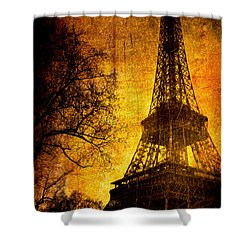 Esthetic Luster Shower Curtain by Andrew Paranavitana