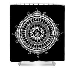Estrella Mandala Shower Curtain