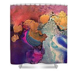 Estuary Of My Heart Shower Curtain