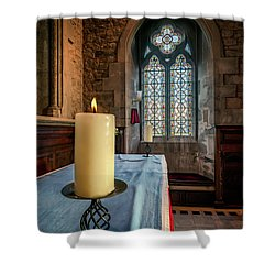 Eternal Flame Shower Curtain