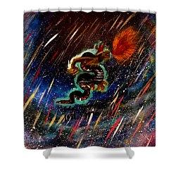 Eternal Flame  Shower Curtain