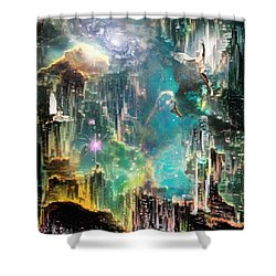 Eternal Kingdom Shower Curtain