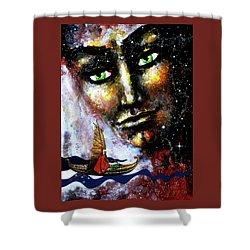 Eternal  Voyage Shower Curtain