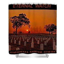 Eternal Watch Shower Curtain