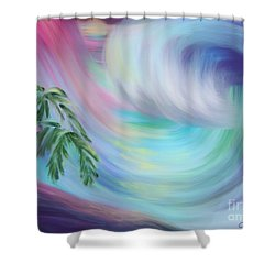 Eternal Wave Shower Curtain