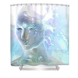 Ethereal Spirit Shower Curtain