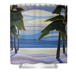 Ethereal Shower Curtain