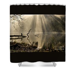 Shower Curtain featuring the photograph Ethereal - D009972 by Daniel Dempster