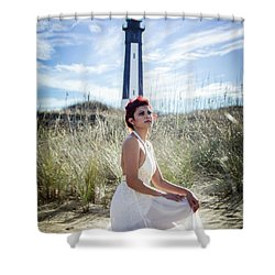 Ethereal Gaze Shower Curtain