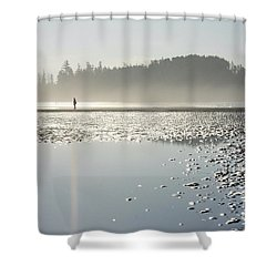 Ethereal Reflection Shower Curtain