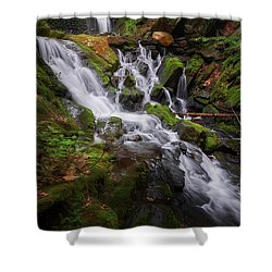 Shower Curtain featuring the photograph Ethereal Solitude by Bill Wakeley