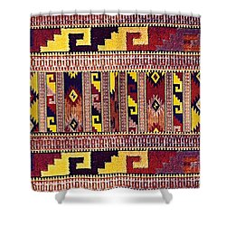 Ethnic Tribal Shower Curtain