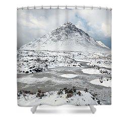 Etive Mor Winter Shower Curtain