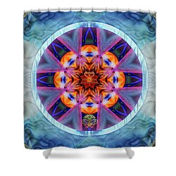 Eudaimonia-custom1 Shower Curtain