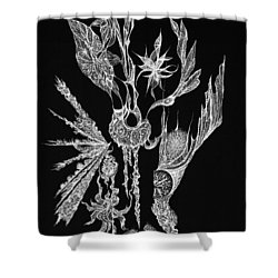 Euphoric Shower Curtain by Charles Cater