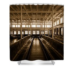 Eureka Ferry Shower Curtain