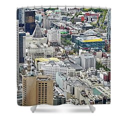 Eureka Skydeck View I I I Shower Curtain by Kirsten Giving