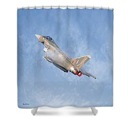 Eurofighter Shower Curtain by Roy McPeak