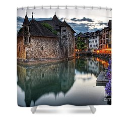 European Beauty 2 Shower Curtain by Rod Jellison