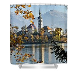 European Beauty Shower Curtain by Rod Jellison
