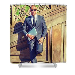 European Professional Travels, Works In New York Shower Curtain