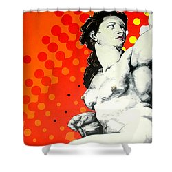 Eva Shower Curtain by Jean Pierre Rousselet