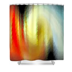 Evanescent Emotions Shower Curtain