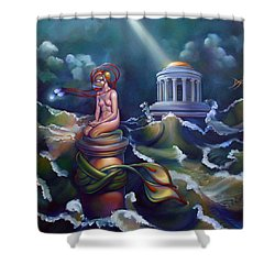 Eve Shower Curtain by Patrick Anthony Pierson