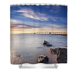 Shower Curtain featuring the photograph Even The Mistakes Aren't Really Mistakes At All by Edward Kreis