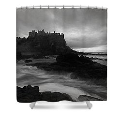 Evening At Dunluce Shower Curtain by Roy  McPeak