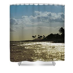 Evening At Poipiu Kauai Shower Curtain